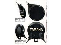 Yamaha retro vintage 1986 electronic kit 7 pads & frame & mounts RARE!
