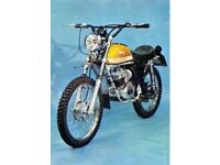 fantic cabellero 1972 49cc sports moped excellent unrestored condition