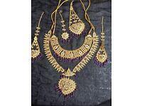 Gold Plated Bridal Wedding Jewellery Set