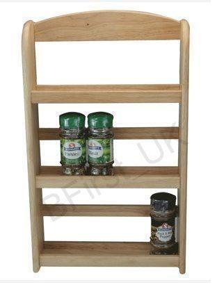Pine Spice Rack Ebay