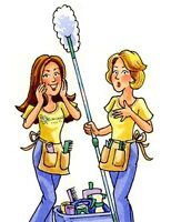 Looking for a cleaning service? We're the ladies to call!