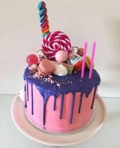 Birthday Party Celebration Bespoke Drip Cakes: Greystanes Parramatta Area Preview
