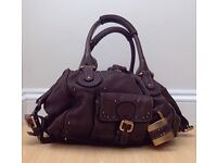 Chloe Dark Brown Leather Handbag
