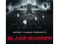 4x Phoenix Advanced tickets to Secret Cinema's Bladerunner on 26th May