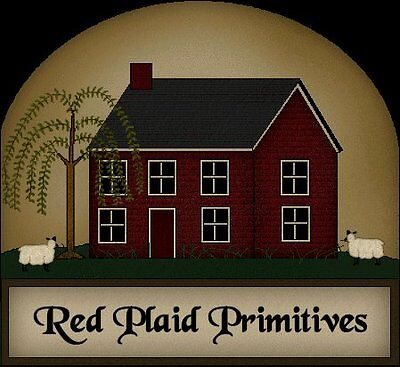 Red Plaid Primitives