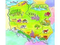 Polish language / lessons/ translating