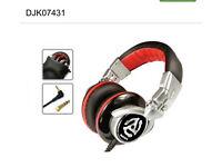 RED WAVE DJ Headphones