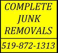 Junk, Furniture, Appliance, etc  REMOVALS...LOWEST COST