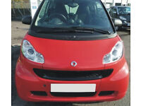 Smart fortwo Passion red black stripe mhd Softouch Rare modelPower steering 2012 grab bargain £3500