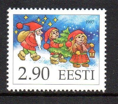 ESTONIA MNH 1997 SG309 CHRISTMAS