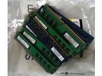 26x 1GB DDR2-800 MHz PC2-6400U 666 RAM DIMM sticks