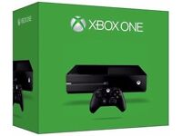 xbo one 1TB ( matte black new model ) boxed with controller