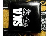 Brand new Ska Two Tone Man wallet, made by Warrior, Skinheads Skins Mods Lambretta Vespa