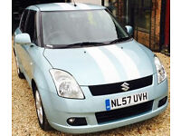Suzuki Swift 1.5 GLX. GUARANTEED FINANCE payment between £17-£34 PW