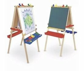 Melissa and Doug learning easel.