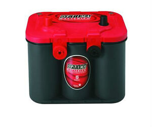 BATTERIE OPTIMA 12V. 34/78 Couvert rouge