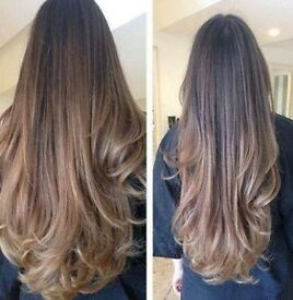 "£99 ONLY! MICRO RING HAIR EXTENSIONS 18""-22"""