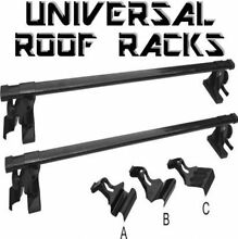 Universal Car Roof Racks (black) BRAND NEW! Baulkham Hills The Hills District Preview