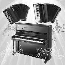 Piano and accordion private lessons Parramatta Parramatta Area Preview