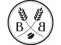 2 POSITIONS - CHEF & BARISTA REQUIRED FOR SPECIALITY COFFEE SHOP (SMALL MENU) PART TIME OR FULL TIME