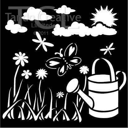 Garden Stencils Ebay