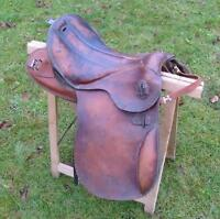 German Army Saddle - WWII - Top Condition