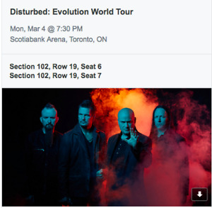 Three Days Grace Tickets