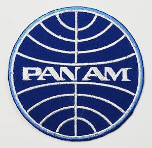 PAN-AM-Classic-1960s-Style-Airlines-Company-Logo-Embroidered-Iron-On-Patch