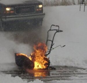 I BUY BROKEN SNOWBLOWERS FOR CASH!!