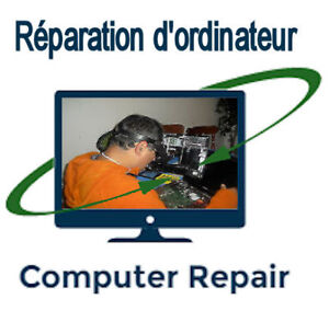 Computer repair (laptops, desktops) 40$ flat