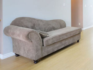 GENTLY USED MADE IN CANADA CHAISE FOR SALE SALE SALE!!!