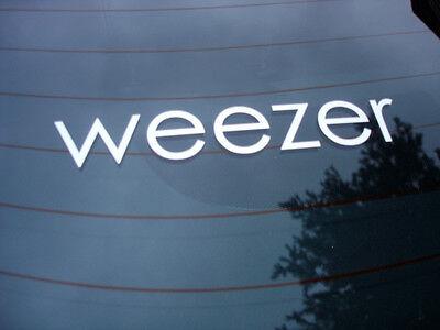 Weezer rock band decal sticker