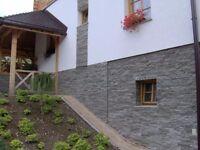 external wall insulation, rendering, installation of wooden floors