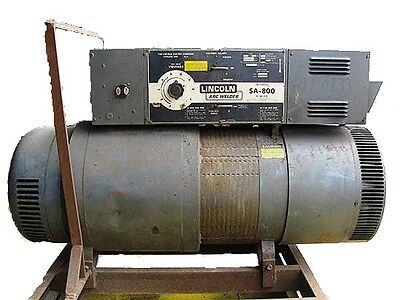 Lincoln Sub-arc Welder Sa-800