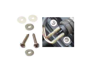 TRIUMPH T140 BRAKE LIGHT SWITCH STAINLESS STEEL SCREWS AND WASHERS