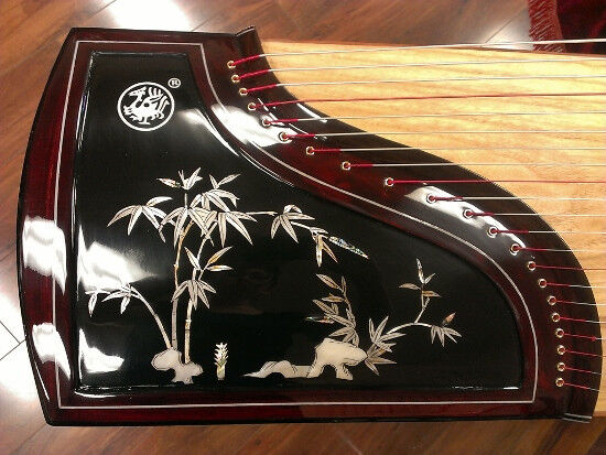 Concert Scarlet Bird Zhuque Guzheng, Chinese Zither