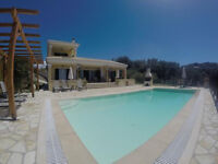 ** LATE DEAL ** 18TH - 25TH July 2016 ** PRIVATE VILLA WITH POOL, CORFU ** £1500 reduced from £2195