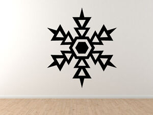 Snowflake-Pattern-5-Winter-Art-Christmas-Decoration-Vinyl-Wall-Decal-Decor