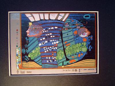 Hundertwasser - EXODUS INTO SPACE