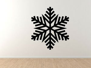 Snowflake-Pattern-3-Winter-Art-Christmas-Decoration-Vinyl-Wall-Decal-Decor