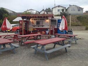 Chip Stand / Food Truck for sale