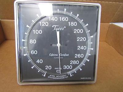 Tycos Jewel Movement Sphygmomanometer No Pump