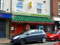 Licenced Chinese Restaurant for rent/may sell/town centre location
