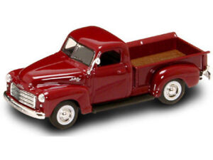 New-In-Box-Road-Signature-1-43-Scale-Diecast-1950-GMC-PICK-UP-Truck