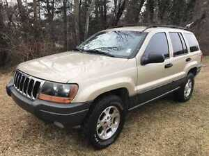 2001 Jeep Cherokee larado for parts or repair