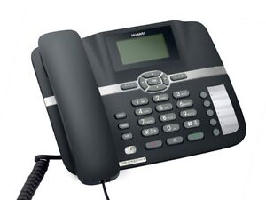 HUAWEI F610 NEO3300 3G GSM DESK PHONE FOR HOME OFFICE CALL-CENTRE SIM SLOT