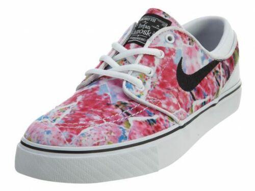 Nike Youth SB Stefan Janoski Premium Canvas Skateboarding Sneakers 654862 101