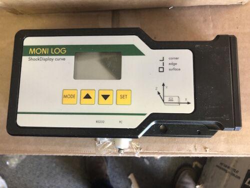 Moni Log Shock Display Curve R20 Transportation Vibration Logger
