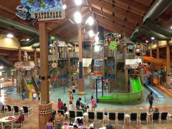 Glacier Canyon@ Wilderness Resort Wisconsin Dells, 2BR, 2BA Deluxe, May 10-12