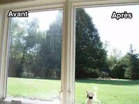 Lavage de vitres à très bon prix ! Appelez-nous au 418-999-6266